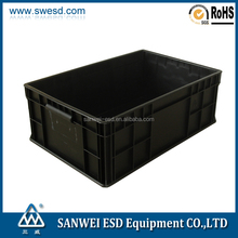 Industrial Electronic Use Cleanroom Antistatic Plastic ESD box