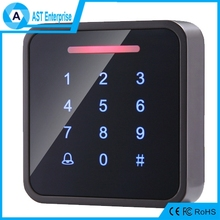 High quality Metallic waterproof touch screen Door Release Access Control System RFID Access Control/Reader