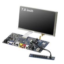 7 inch TFT open frame embedded main motherboard LCD display screen