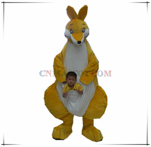 Commercial quality kangaroo mascot costume animal mascot for sale