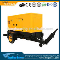 Electric power Deutz engine (BF4M1013FC) 125kva portable diesel generator for sale
