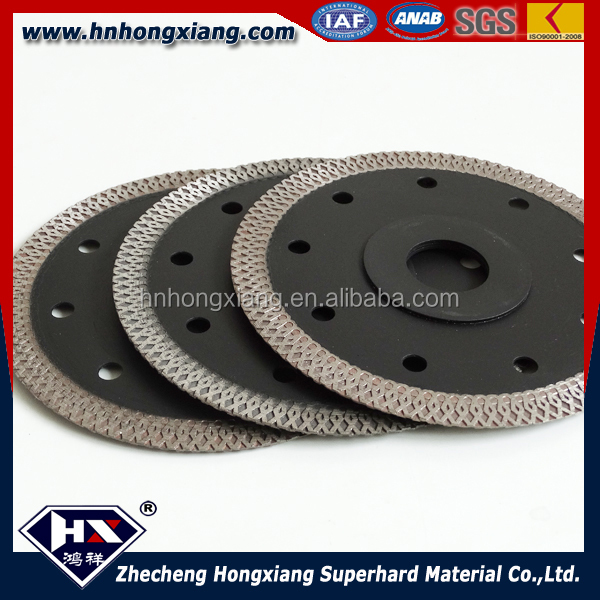125mm super thin diamond cutting discs for cutting ceramic tiles