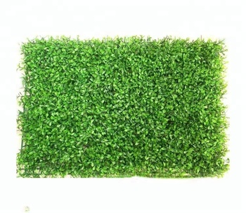 Wholesale decorative artificial boxwood hedge for green wall