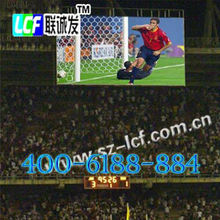 P12 2R1G1B Stadium LED Screens Display Boards for 14 - bit Gray Level