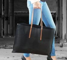 kraft paper tote shopper bag