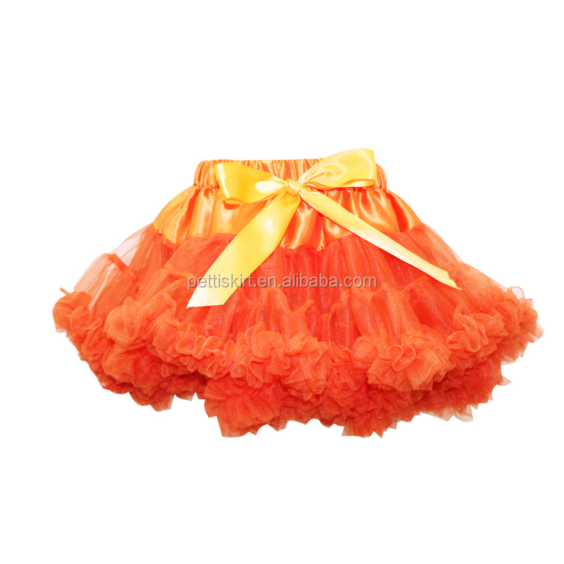 cheap china wholesale kids clothing little girls light blue tutu skirt