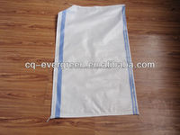 Moisture proof woven pp fabric 25kg bag of rice