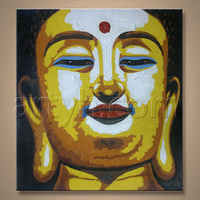 Hot Sell Original Modern Painting Buddha Picture
