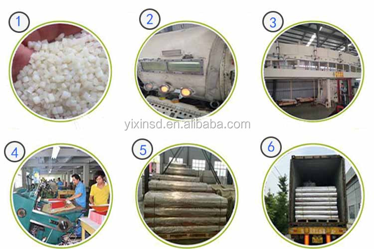 High quality BOPP/PET/CPP/PE metalized films manufacturer