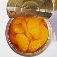 Wholesale Canned mandarin orange in light syrup
