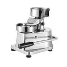 commercial manual hamburger patty making machine