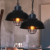 2016 loft American Metal Wire Black Cage Pendant Lamp Industrial Vintage Lighting For Living Room
