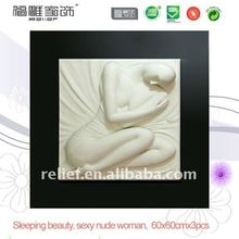 vivid 3d chinese nude girl body oil painting