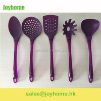 5pcs long handle plastic kitchen utensils