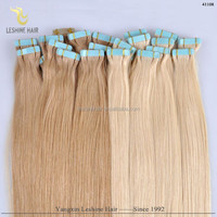China Supplier Double Drawn Soft Tight No Tangle No Shedding tape hair extensions uk