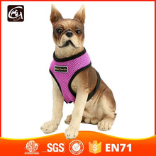 Directly Factory Wholesale Soft Dog Harness (Mesh) Purple Large