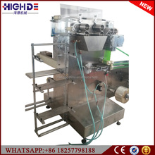 Individual automatic Hotel Airline fast food Catering Sanitary Wet Towel packing machine in Burma