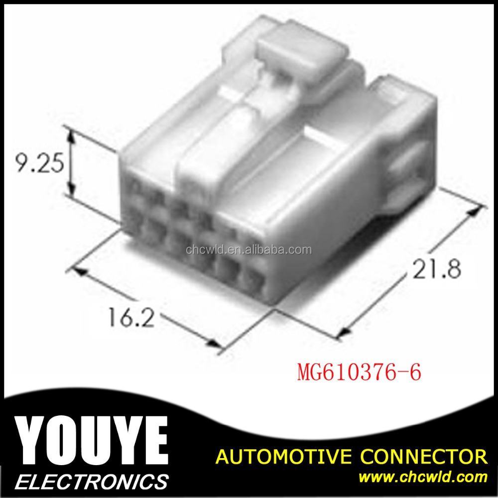 KET auto headlight connector plug 12 poles female