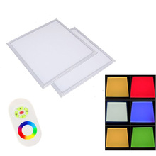 600x600 620x620mm RGBW RGB Warm white 40W led ceiling panel light for Office Kitchen by DHL 6pcs