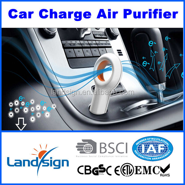 2017 car air conditioner 12v portable air conditioner for cars EP501 air purifier car from China