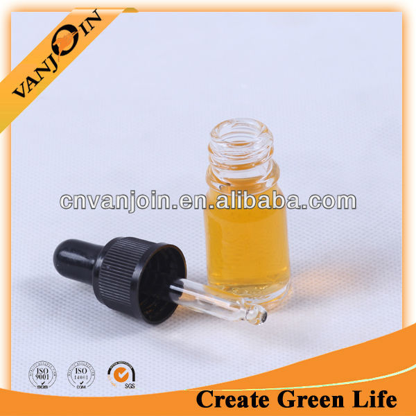 High quality mini crystal glass scent bottles for essential oil