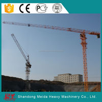 fixed building tower crane, 55m jib,tip load 1.3t 5513 flat top tower crane price