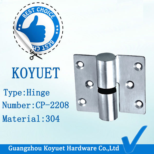 Public System Partitons Parts Accessory Bathroom Cubicle Hardware WC Toilet Hinge Stainless Steel