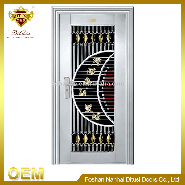 Exterinal Indian steel door decoration JH424