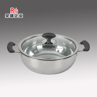 electric commercial boiling stainless steel soup pot