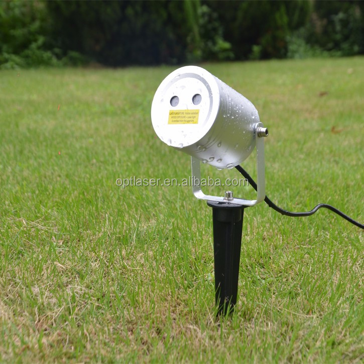 Factory Christmas Star Motion Laser Light, Outdoor Laser Projector for Home Decoration Lighting