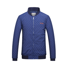 latest design smooth custom cotton jacket for men