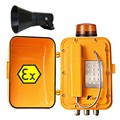 Explosion proof telephones KNTECH Knex8  rugged and durable Industrial Telephone  voip atex telephone