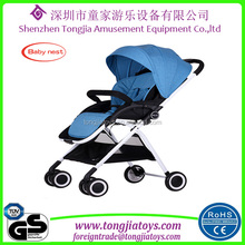 new born baby stoller factory in zhongshan baby stroller with big wheels/ cup holder luxury outdoor baby pram
