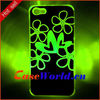 Flash light up Case led case for phone 5S 5C