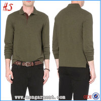 Bulk Buy All-Over Pique Texture High Quality Product Line Made In China Suppliers Men's Long Sleeves Polo Shirt