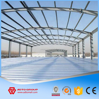 High Quality Fast Built Steel Structure Prefab Insulated Panel Light Frame Warehouse Workshop Special Construction