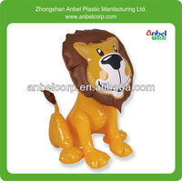 lovely Inflatable lion animal toy