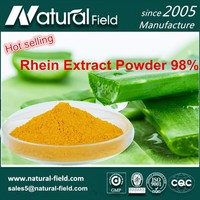 Food/Cosmetics/Medical With Rhein Extract Powder 98%