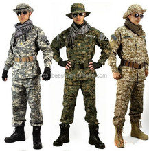 CS High Quality Tactical Military Uniform Paintball Laser Clothes Special ACU Digital Camouflage Set