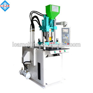 2017 silica gel belt plug injection molding machine pvc full automatic vertical for shoe sole price small plastic hopper
