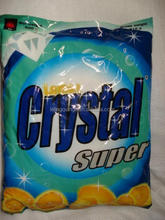 crystal super laundry soap detergent washing powder OEM factory cleaning products