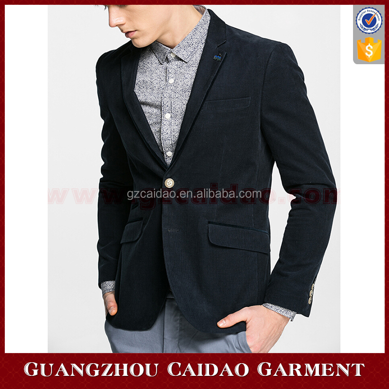 Hot Sale Slim Fit Mens Corduroy Sport Blazer