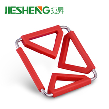 New fashion household unique holders funny foldable heat resistance pot mat silicone trivet