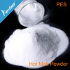 0-80 um PES Hot Melt adhesive powder for heat transfr printing
