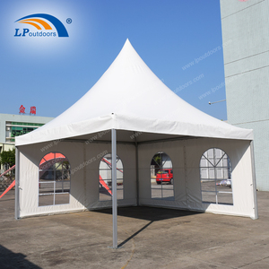 5x5 m outdoor pagoda garden tent for swimming pool shade