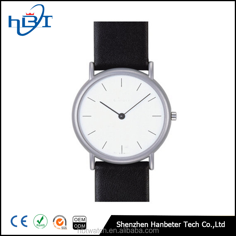Shenzhen Hanbeter factory round ladies watch stainless steel watches for sale
