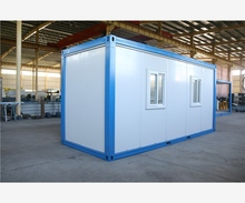 Good Insulated Prefab Kit pre made long service life economical multi container house
