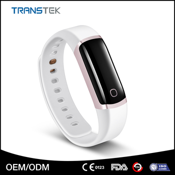 OLED display bluetooth smart bracelet, top quality heart rate monitor