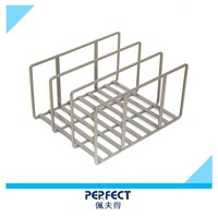 Cutting board metal rack oven pan accessory storage rack