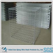 stone cage wire mesh gabion box for river road